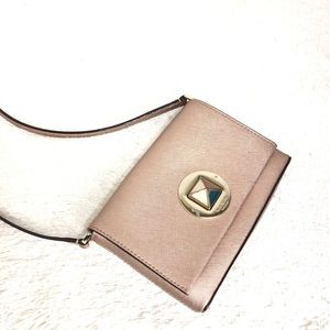 🌸OFFERS?🌸Kate Spade Leather Rose Gold Crossbody